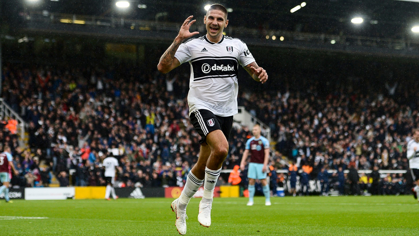 Fulham v Burnley, Premier League, Football, Craven Cottage, City, UK - 26 Aug 2018