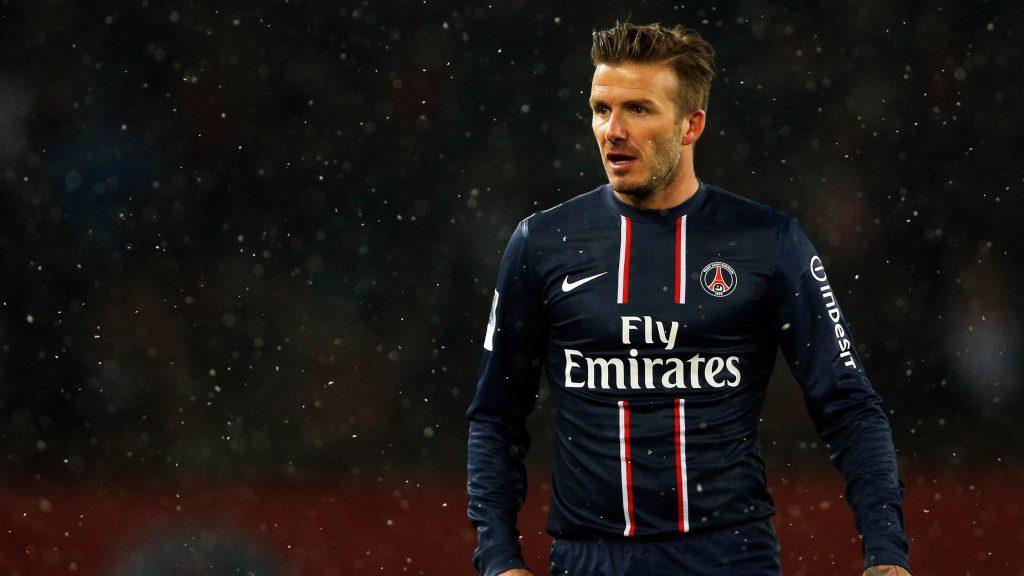 David Beckham la PSG. Sursă foto: goal.com