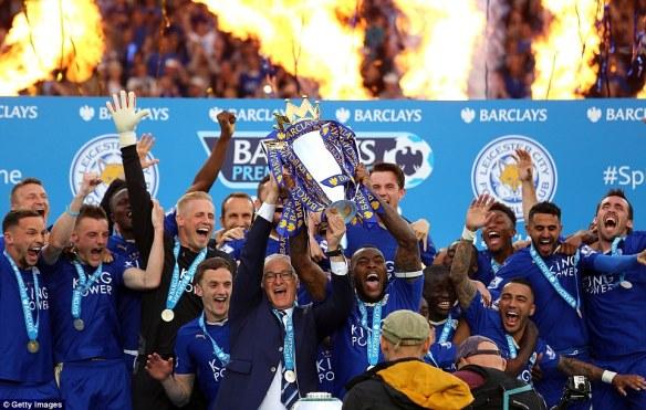 Jucători Leicester. Sursă foto: goal.com