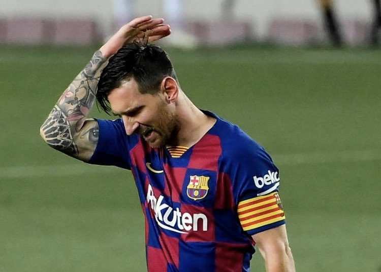 Lionel Messi. Sursă foto: twitter.com