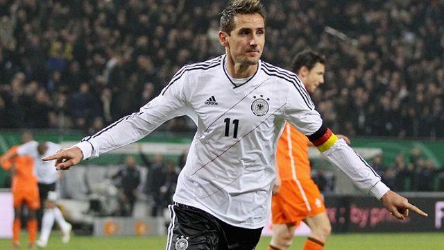 Miroslav Klose. Sursă foto: gadeche.de