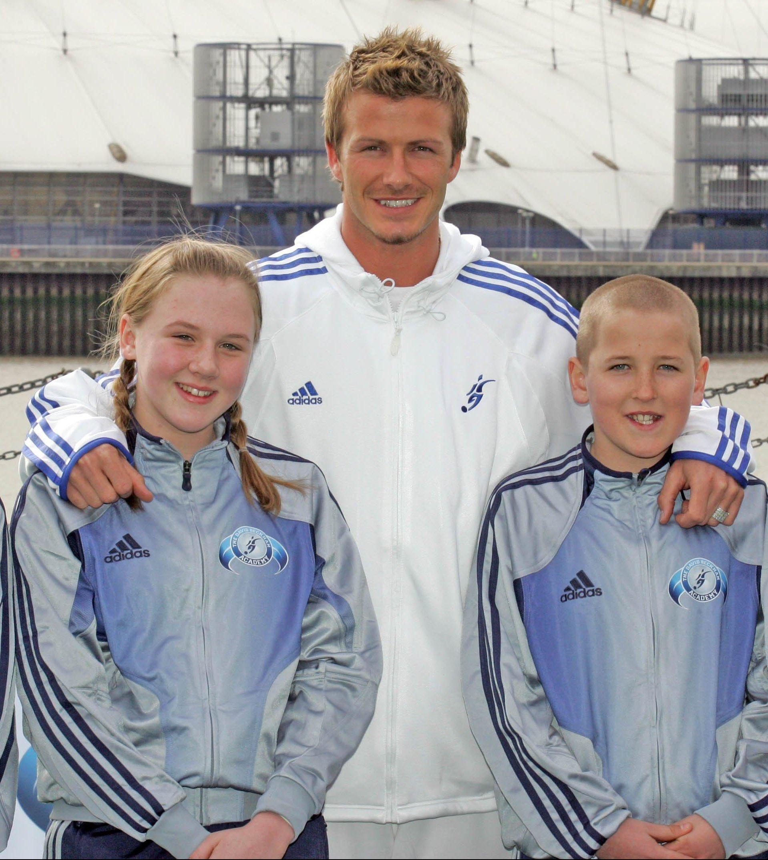 David Beckham și Harry Kane