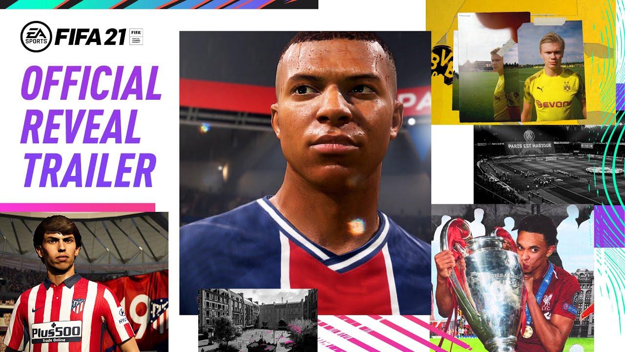 Primul trailer FIFA 21! Mbappe, Haaland, Joao Felix și Trent Arnold sunt vedetele. Sursă foto: youtube