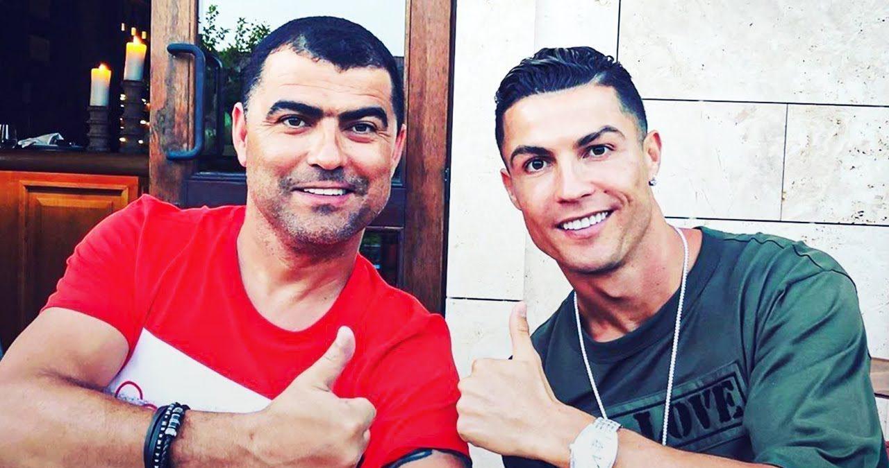 Cristiano Ronaldo și fratele său. Sursă foto: ronaldo.com