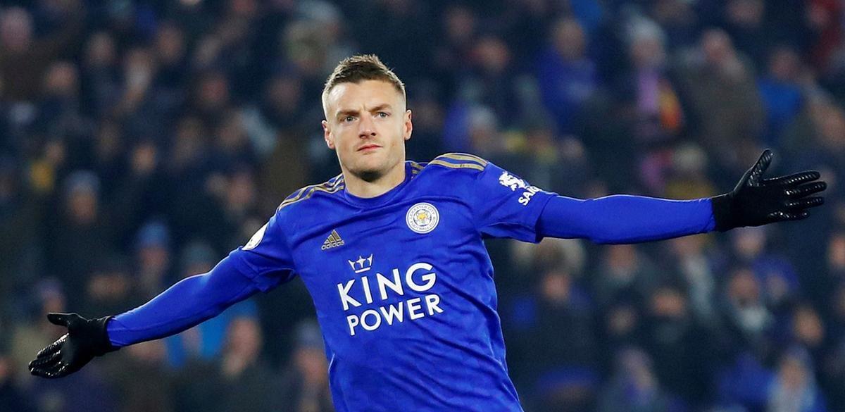 Jamie Vardy Leicester. Sursă foto: goal,com