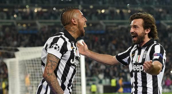 Vidal a vorbit despre o revenire la Juventus. Sursă foto: goal.com
