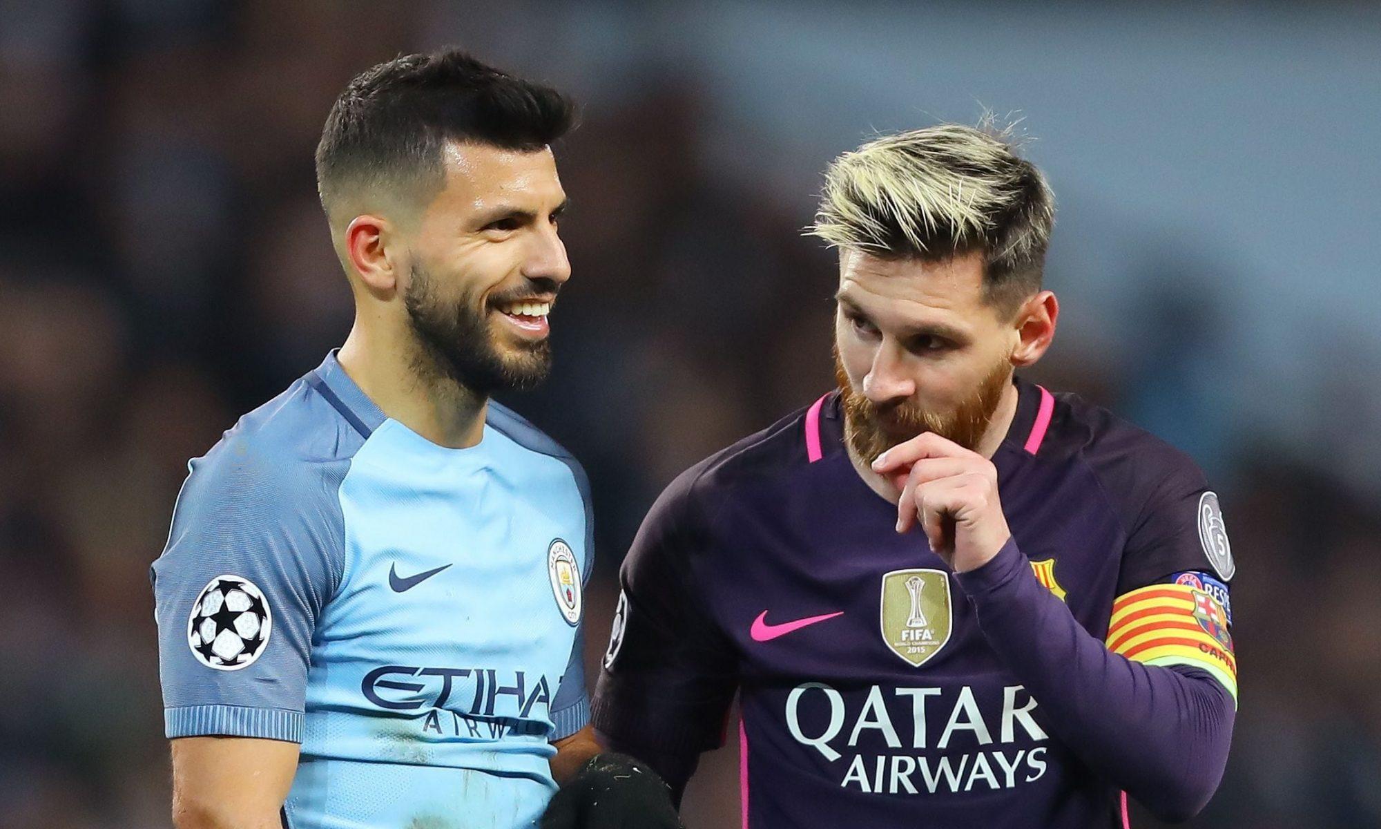 Fanii lui Manchester City sunt convinși că Messi va veni! Aguero și-a șters numărul 10 de pe Instagram. Foto. Sursă foto: goal.com