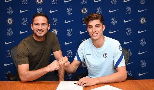 Kai Havertz la Chelsea. Sursă foto: goal.com