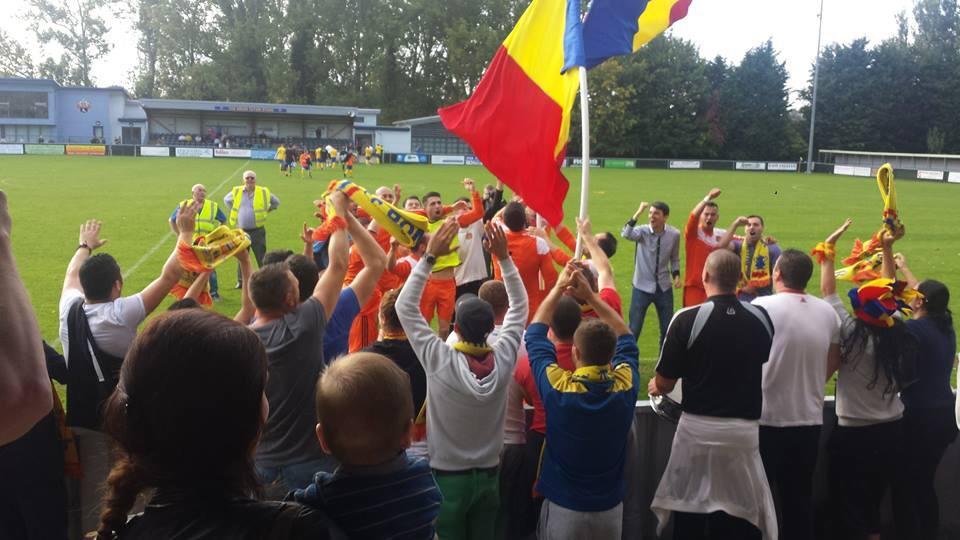 Fanii FC România. Sursă foto: fcromania.com