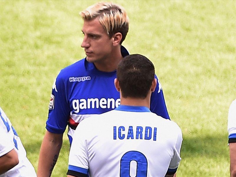 Maxi Lopez vs. Mauro Icardi. Sursă foto. goal.com
