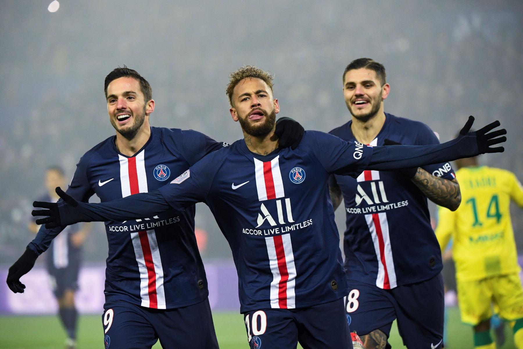 Jucătorii lui PSG. Sursă foto: goal.com