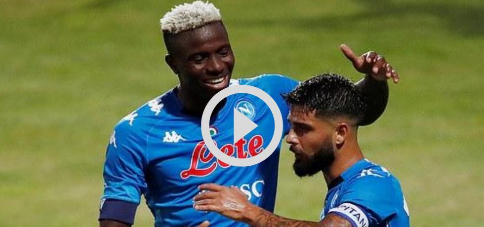 Osimhen a dat o triplă pentru Napoli în doar 8 minute. Video