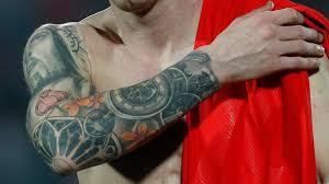 Cotul lui Lionel Messi. Sursă foto: inkmag.com