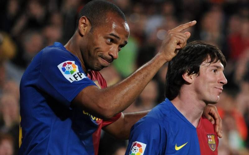 Henry a povestit cât de rău se poate enerva Messi. Sursă foto: goal.com