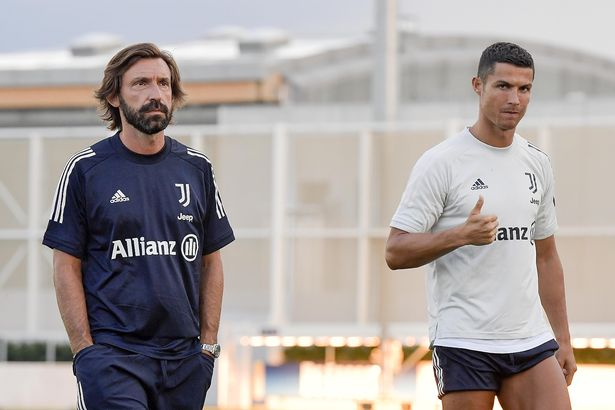 Andrea Pirlo și Cristiano Ronaldo. Sursă foto: goal.com