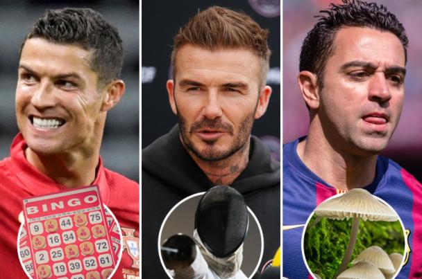 Hobby-urile ciudate ale fotbaliștilor. Sursă foto: thesun.co.uk