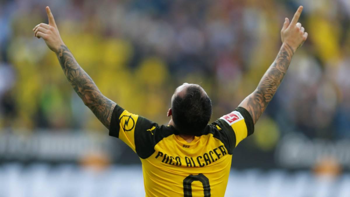 Paco Alcacer. Sursă foto: goal.com