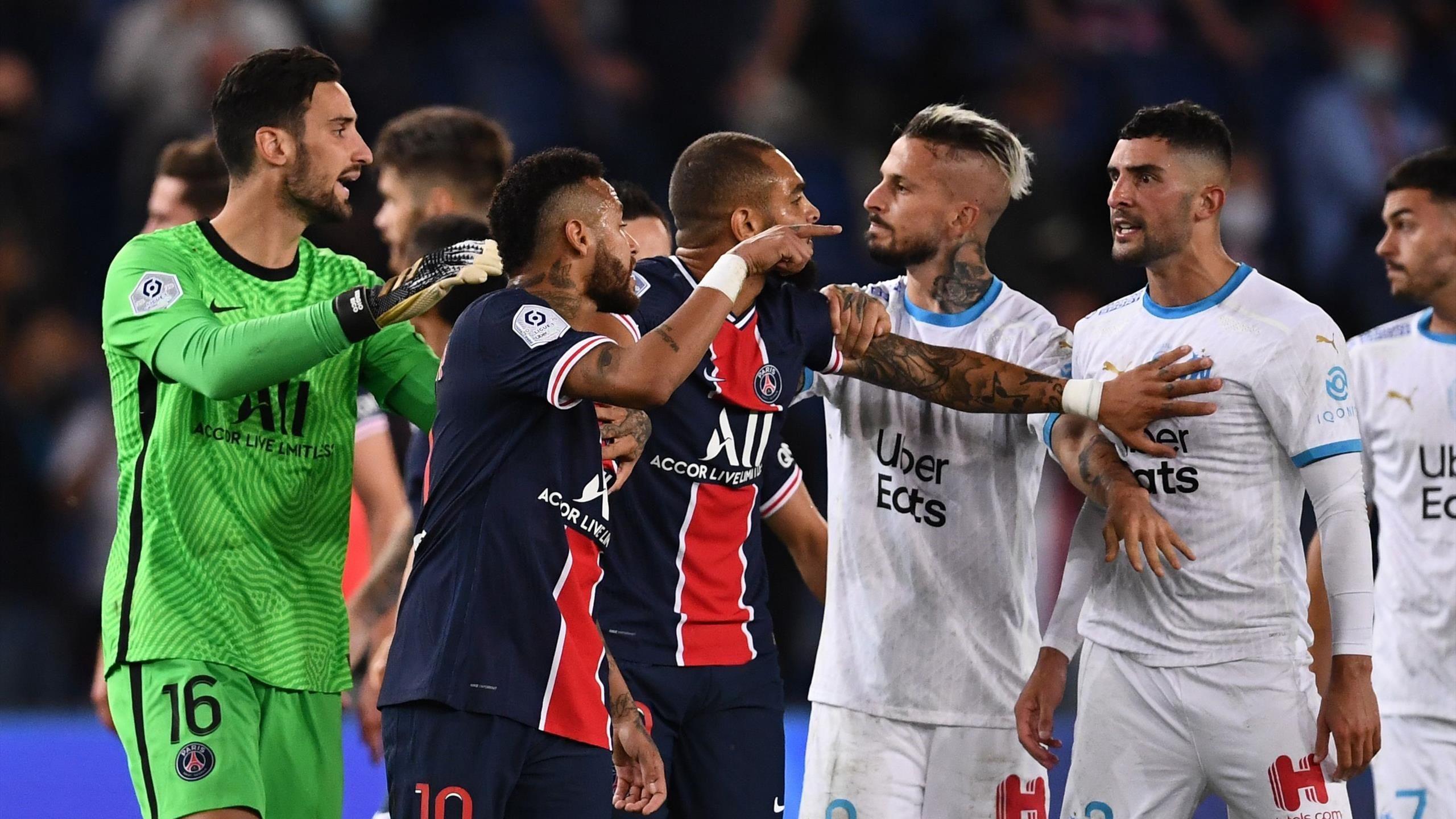 Imagine de la PSG - Marseille. Sursă foto: goal.com