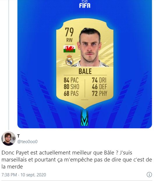Reacția unui fan al lui Marseille. Sursă foto: twitter.com
