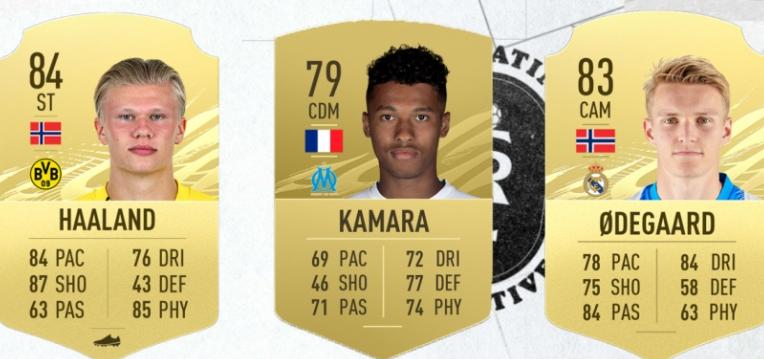 Top 25 cei mai buni tineri fotbaliști din FIFA 21. Sursă foto: goal.com