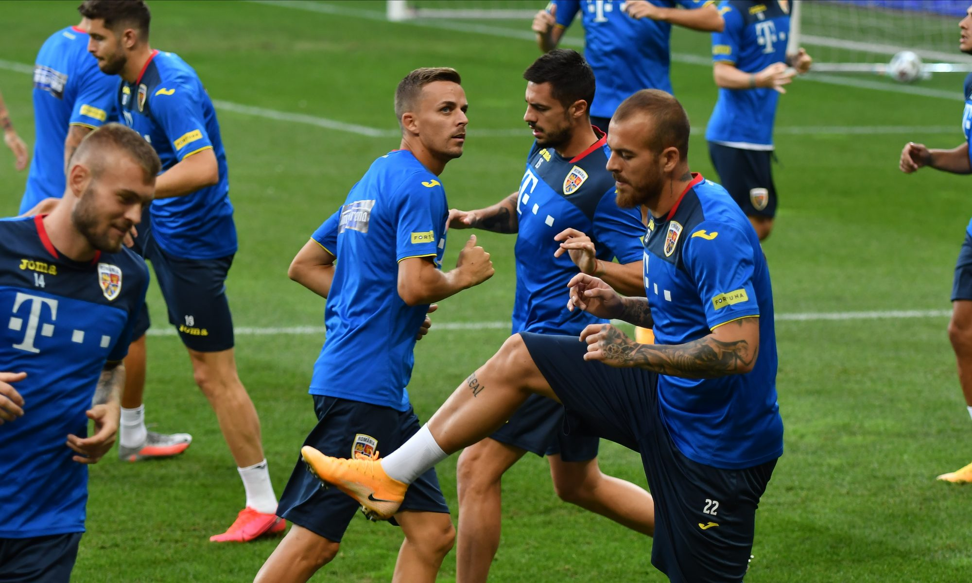 Așa arată cea mai scumpă echipă de start a României. Sursă foto: sportpictures.eu