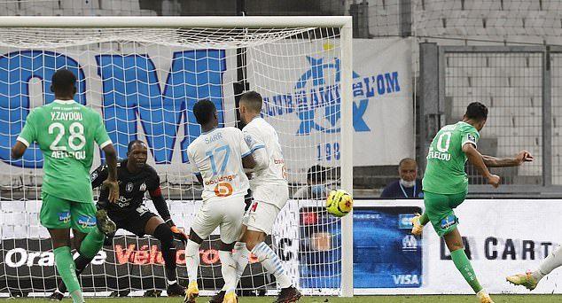 Imagine de la Marseille - Saint Etienne. Sursă foto: goal.com