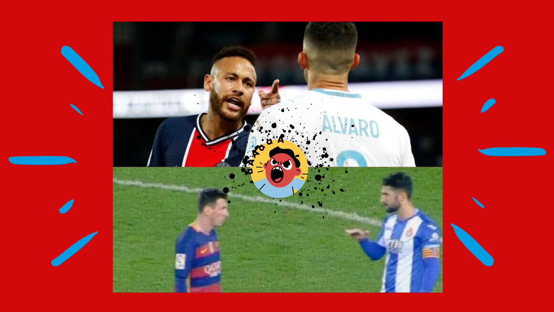 Alvaro, cel care l-a insultat pe Neymar, l-a jignit și pe Messi. Video. Sursă foto: primul11.com