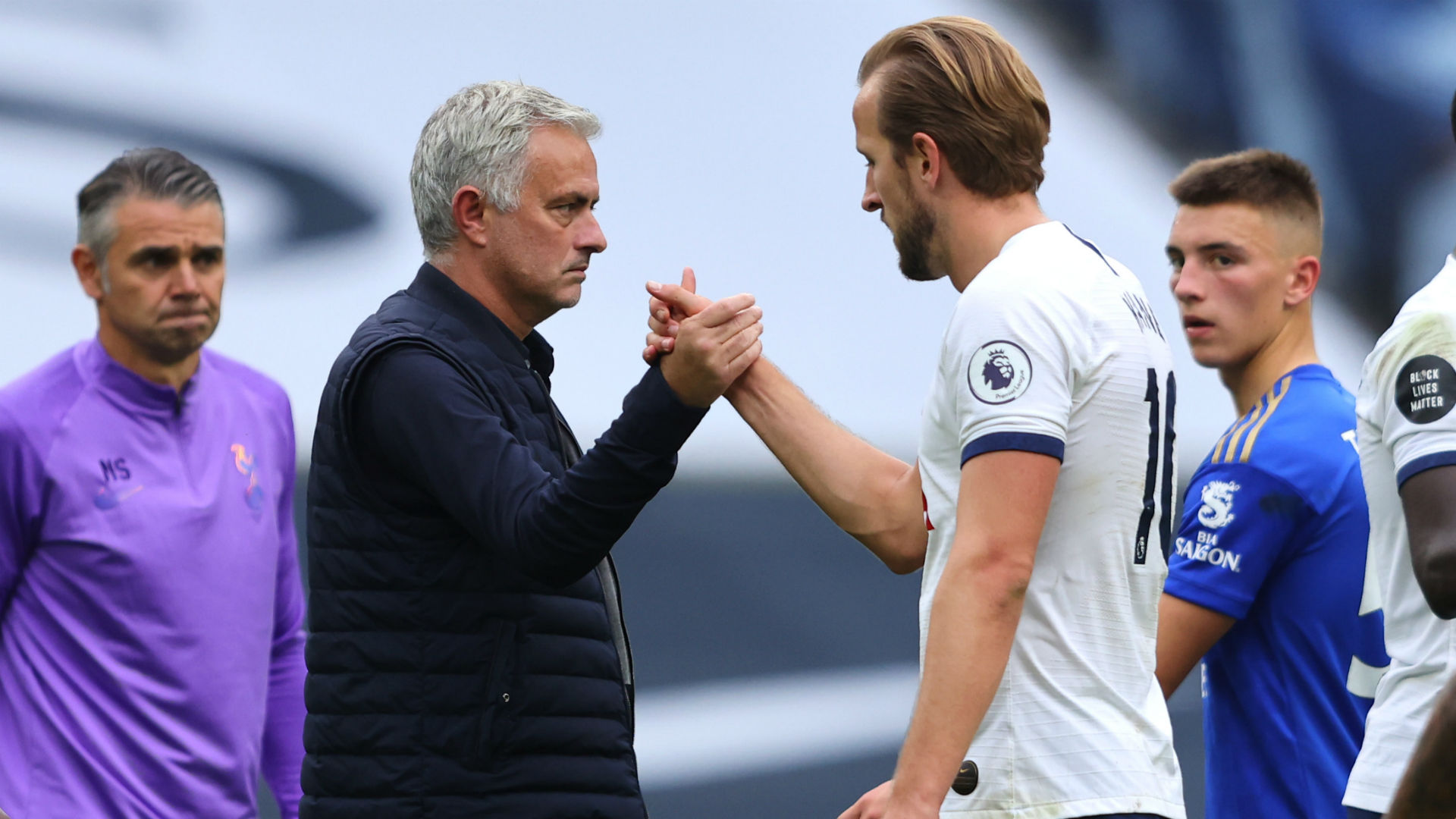 Jose Mourinho și Harry Kane. Sursă foto: goal.com