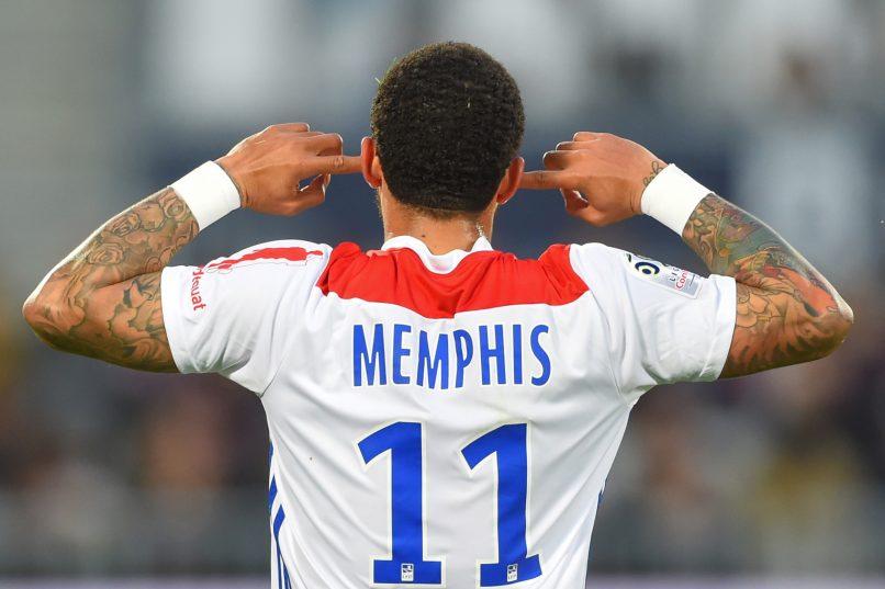 Motivul pentru care Memphis Depay nu își trece numele de familie pe tricou. Sursă foto: goal.com
