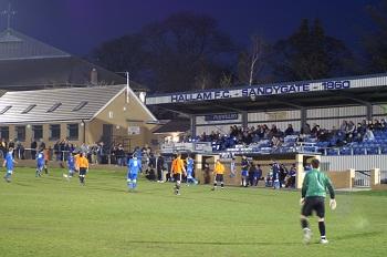 Sandygate Road Stadium, arena lui Hallam FC. Sursă foto: goal.com