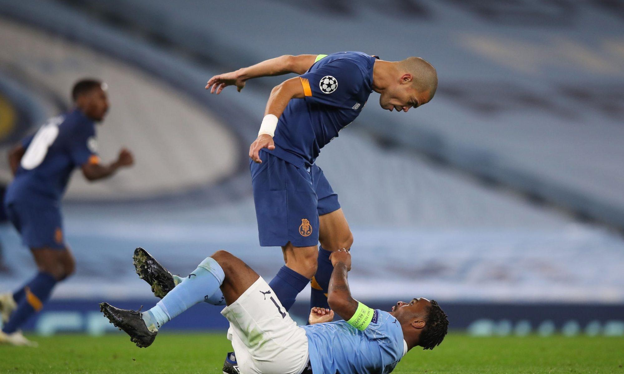 Pepe, ca în vremurile bune! A făcut penalty și l-a bruscat pe Sterling. Video. Sursă foto: Twitter