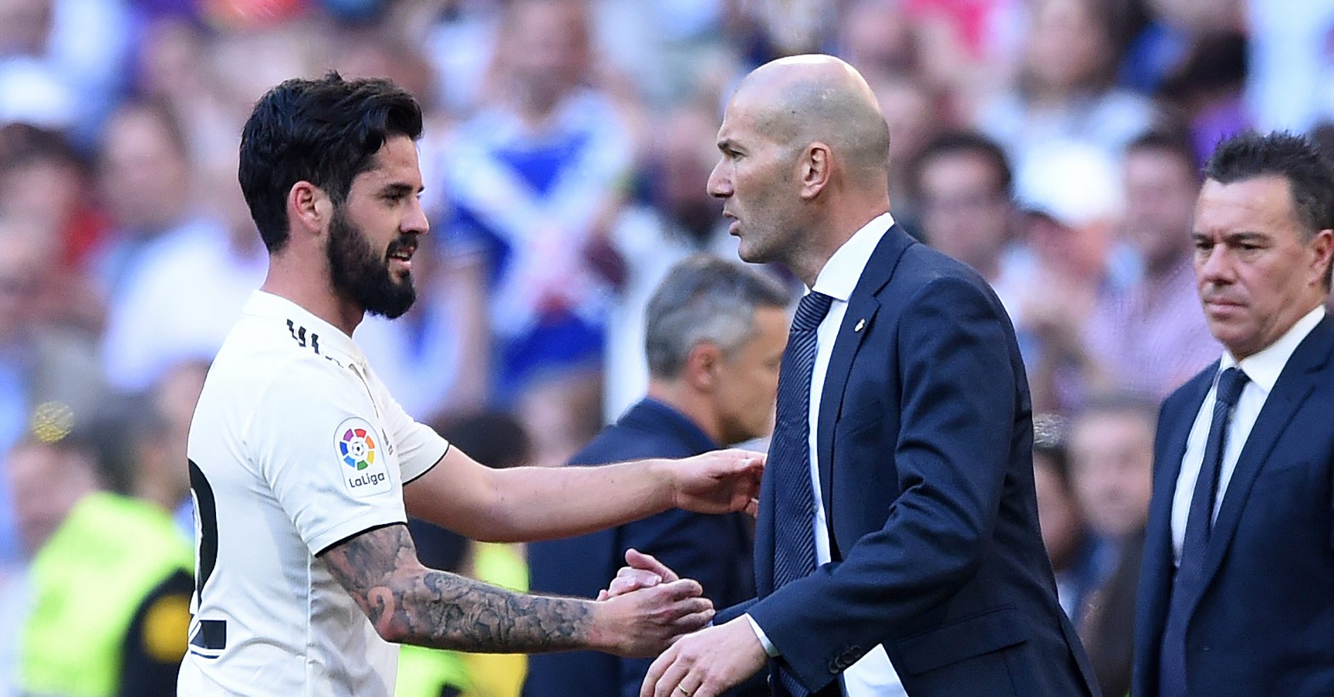 Isco, supărat pe Zidane. Video. Sursă foto: goal.com