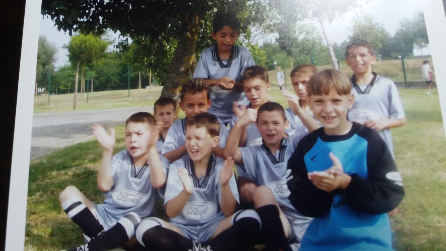 Ionuț Radu în copilărie. Sursă foto: libertatea.ro