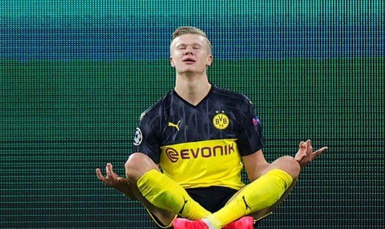 De ce Erling Haaland se bucură așa după goluri. Sursă foto: goal.com