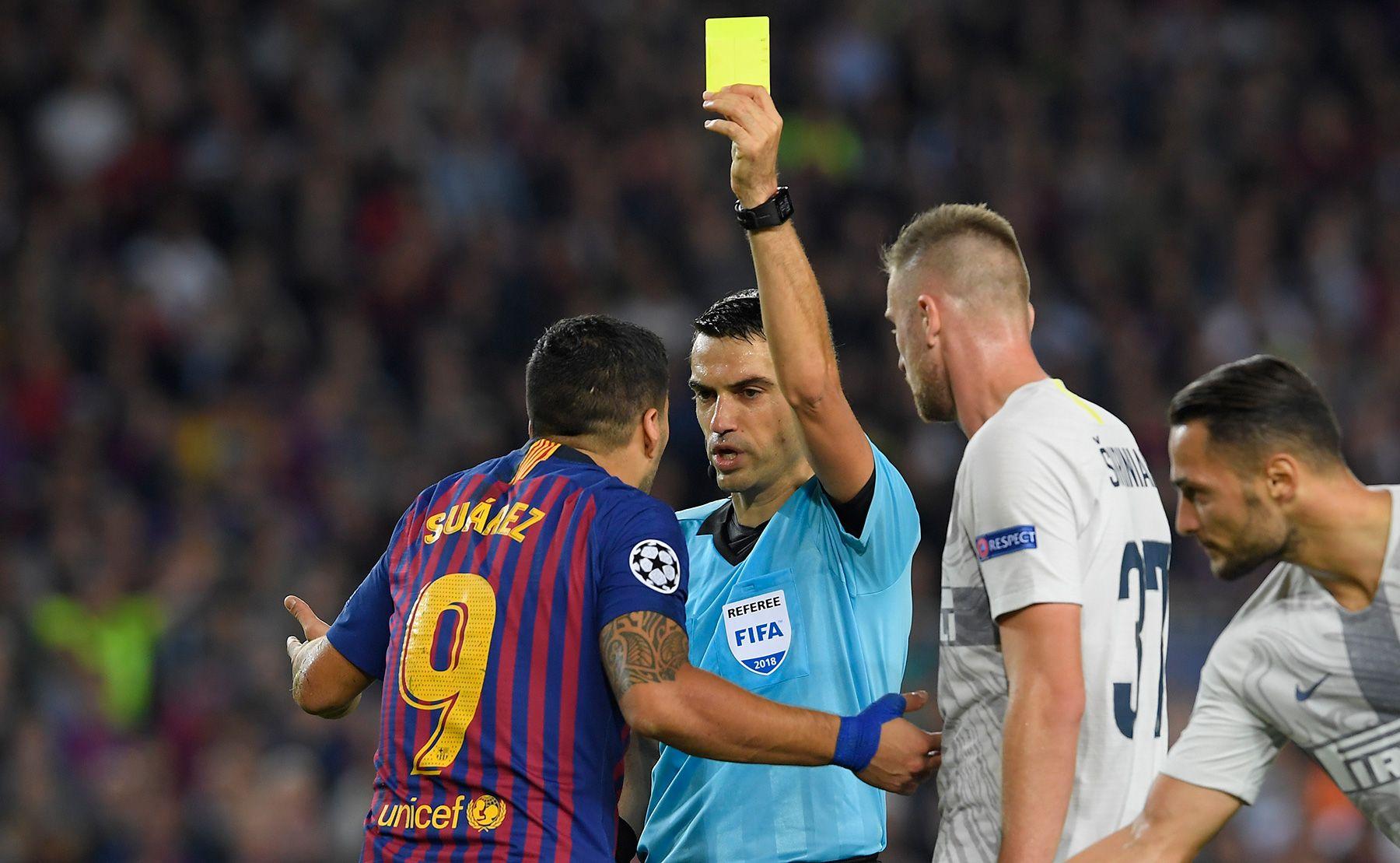 Hațegan, încă un meci pe care îl arbitrează în Champions League. Sursă foto: goal.com