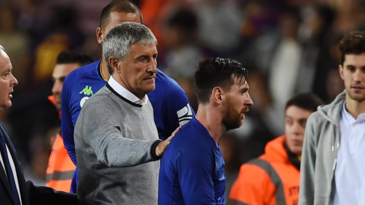 """Setien: """"E dificil să lucrezi cu Messi!"""". Sursă foto: goal.com"""