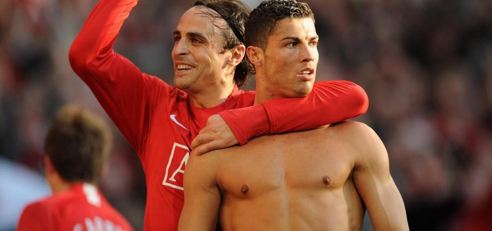 Cristiano Ronaldo și Dimitar Berbatos. Sursă foto: sportsJOE.ie