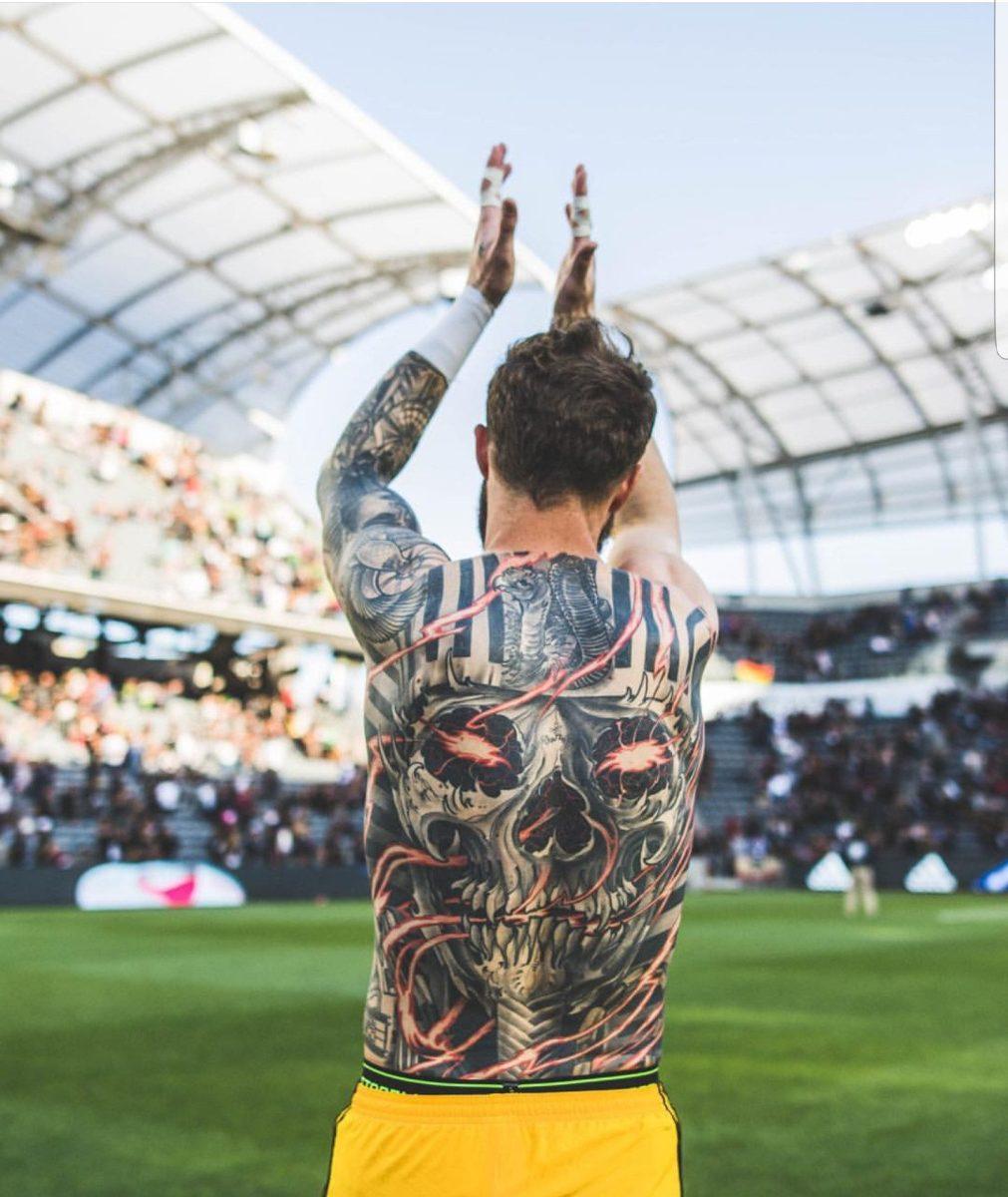 Recunoști fotbaliștii după tatuaje. Sursă foto: reddit.com