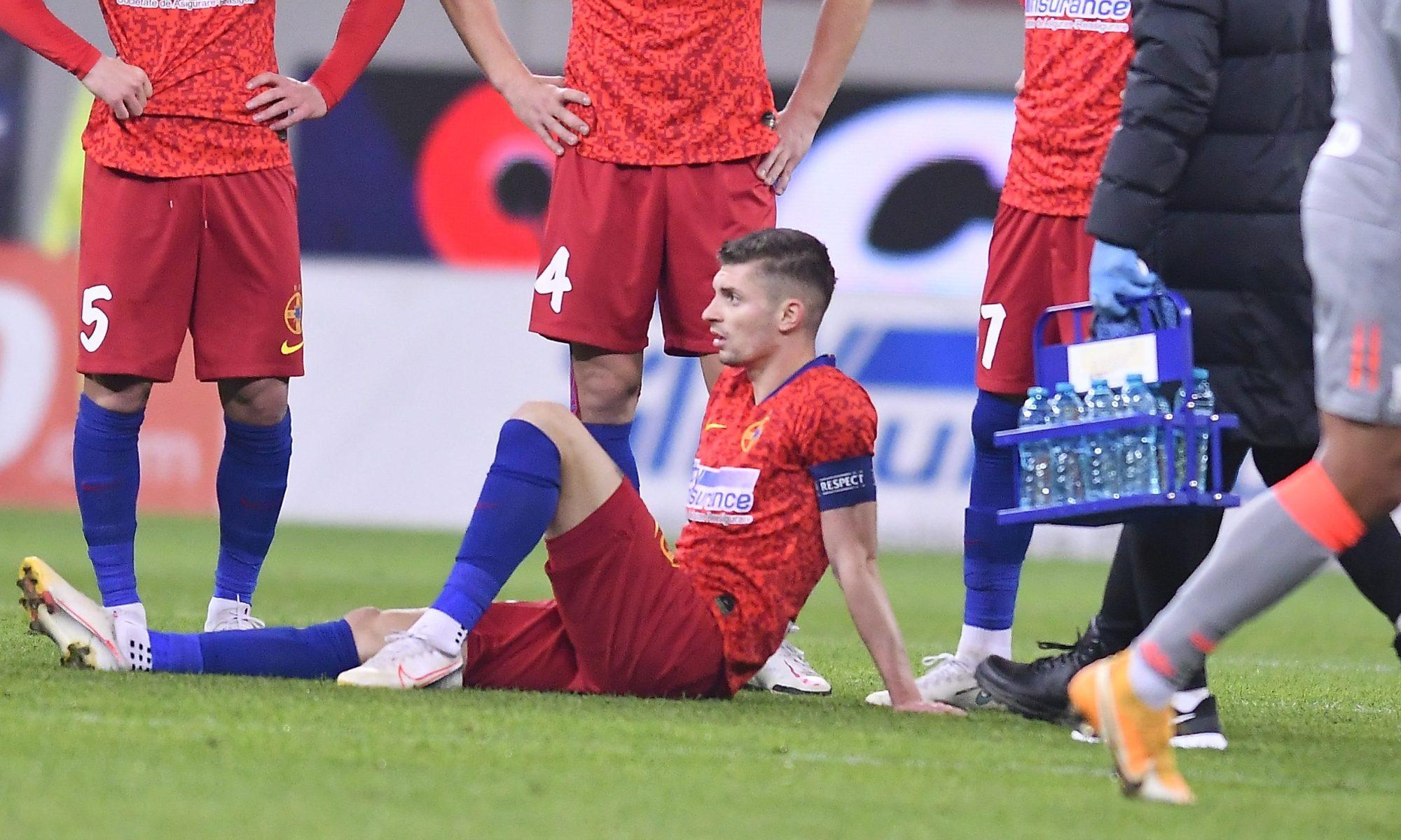 Toni Petrea a vorbit despre accidentarea lui Tănase. Sursă foto: sportpictures.eu
