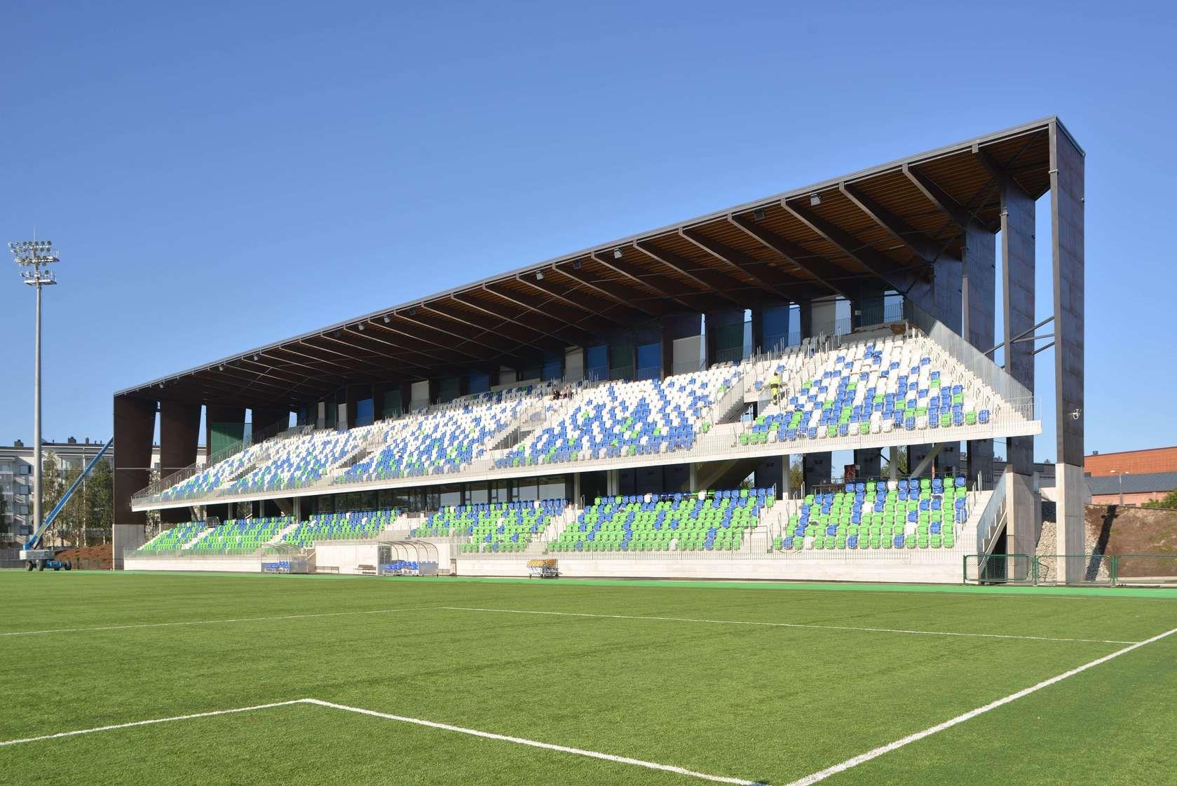 Stadionul din Rovaniemi. Sursă foto: pinterest.com