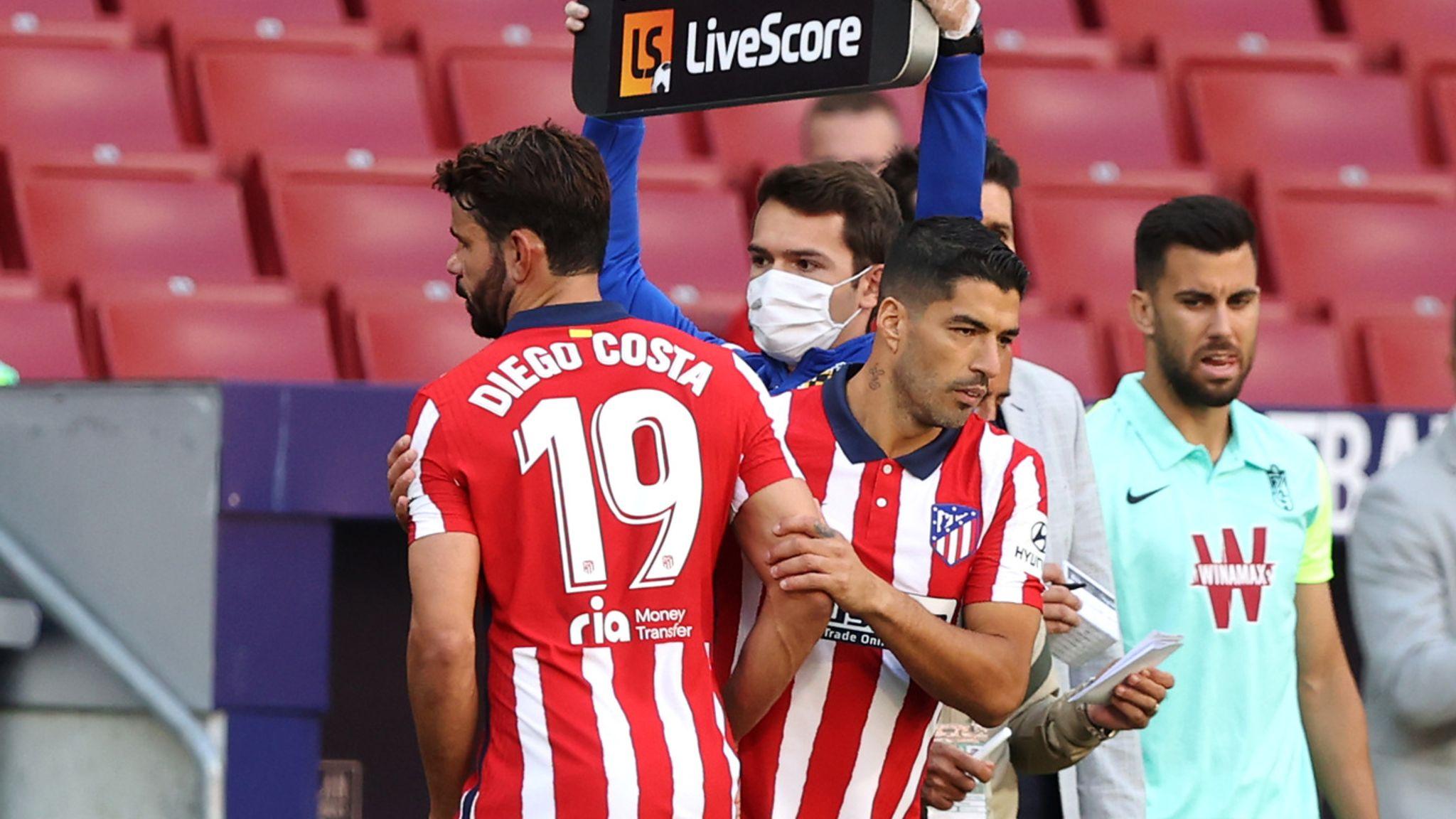 Diego Costa și Luis Suarez. Sursă foto: skysports.com