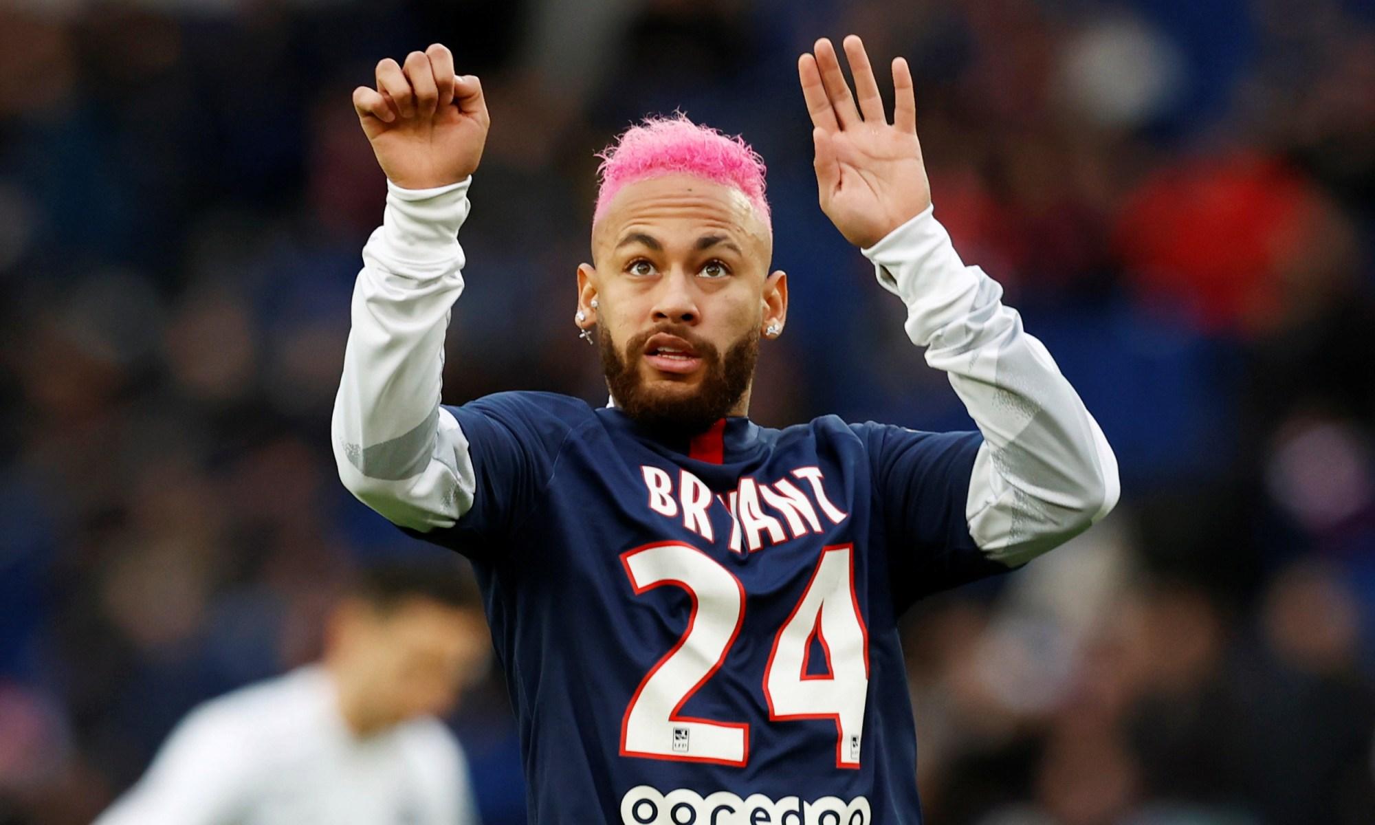 Tatuajul lui Neymar în memoria lui Kobe Bryant. Sursă foto: gaol.com