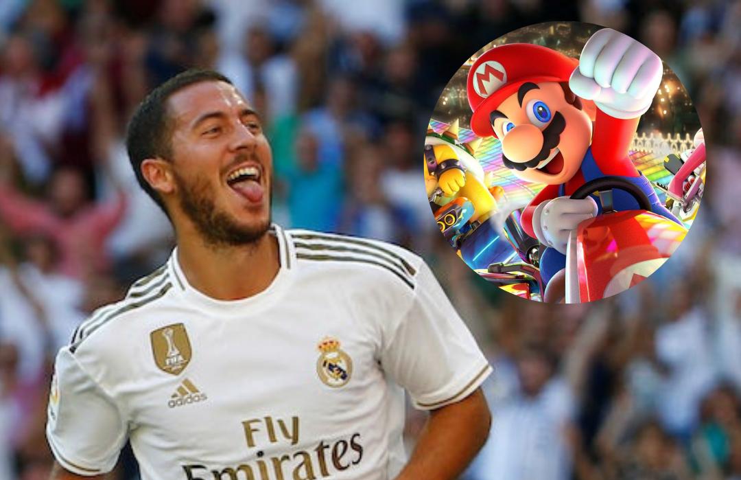 """""""Cu 5 minute înainte de meciuri, Hazard se joacă Mario Kart în vestiar"""". Sursă foto: primul11.com"""