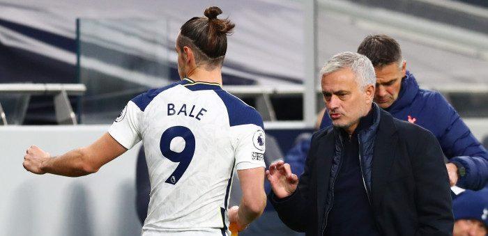 Jose Mourinho și Gareth Bale. sursă foto: goal.com