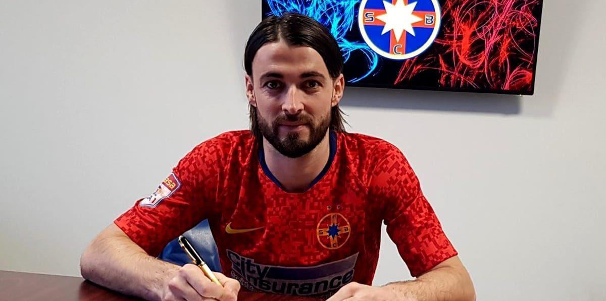 "Presa din Slovenia: ""Vukusic a comis greșeala vieții când a semnat cu FCSB"", Sursă foto: gsp.ro"