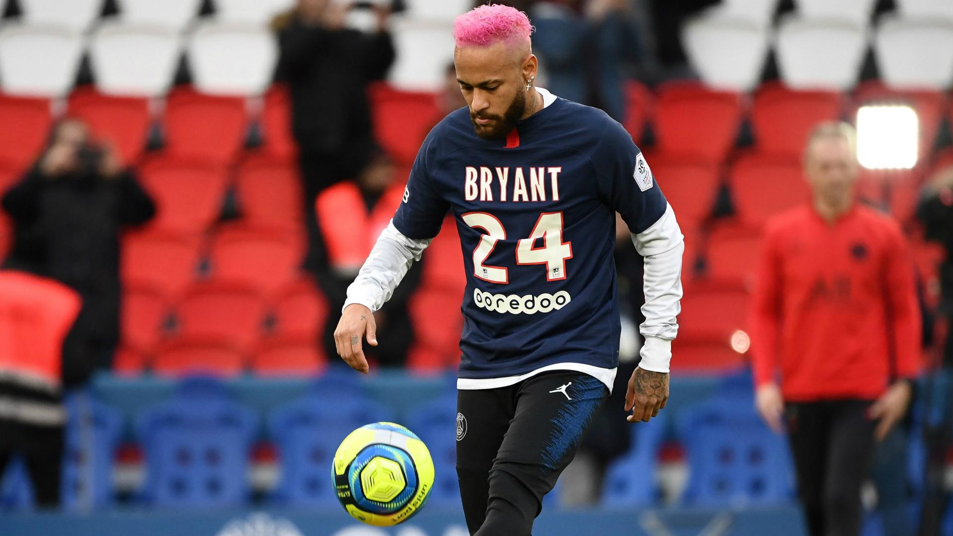 Neymar cu un alt tribut pentru Kobe Bryant. Sursă foto: goal.com