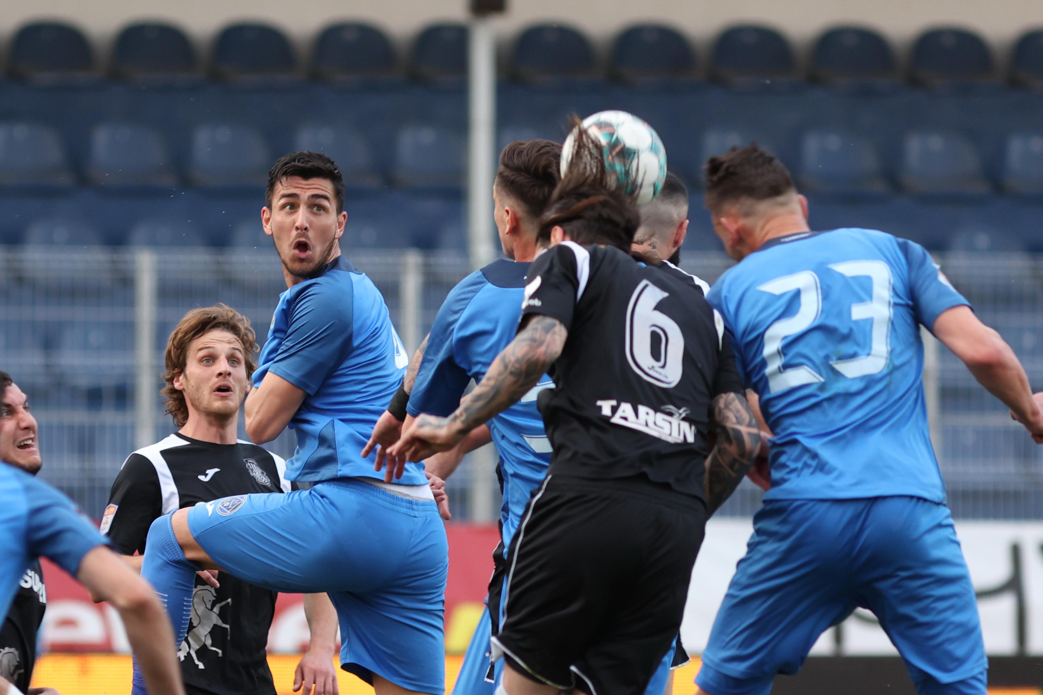 Imagine din Academica Clinceni - Poli Iași 2-1. Sursă foto: sportpictures.eu