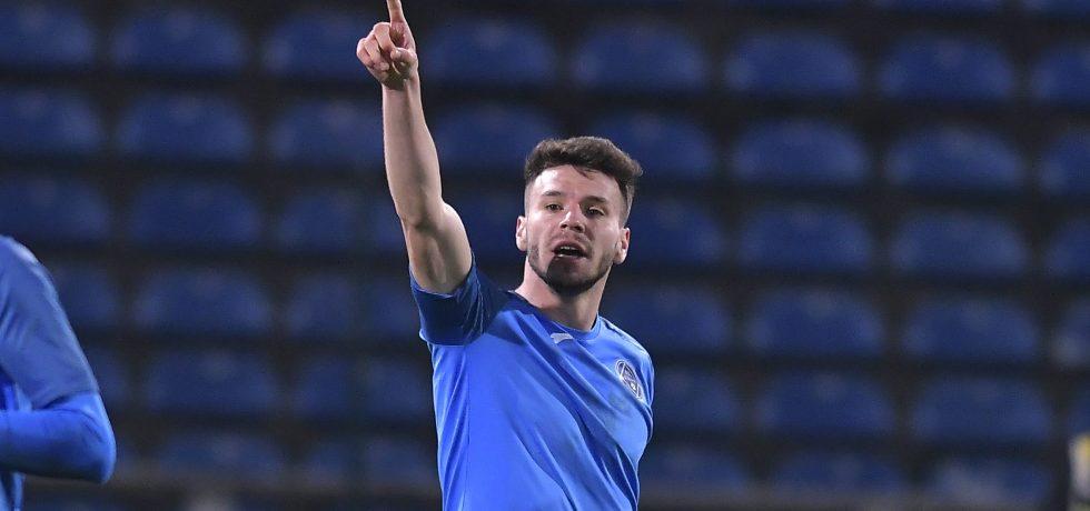 Andrei Cordea, fotbalist la Academica Clinceni. Sursă foto: sportpictures.eu
