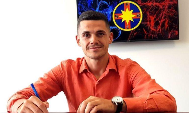 Andrei Dumiter, planuri mari după ce a semnat cu FCSB. Sursă foto: gsp.ro