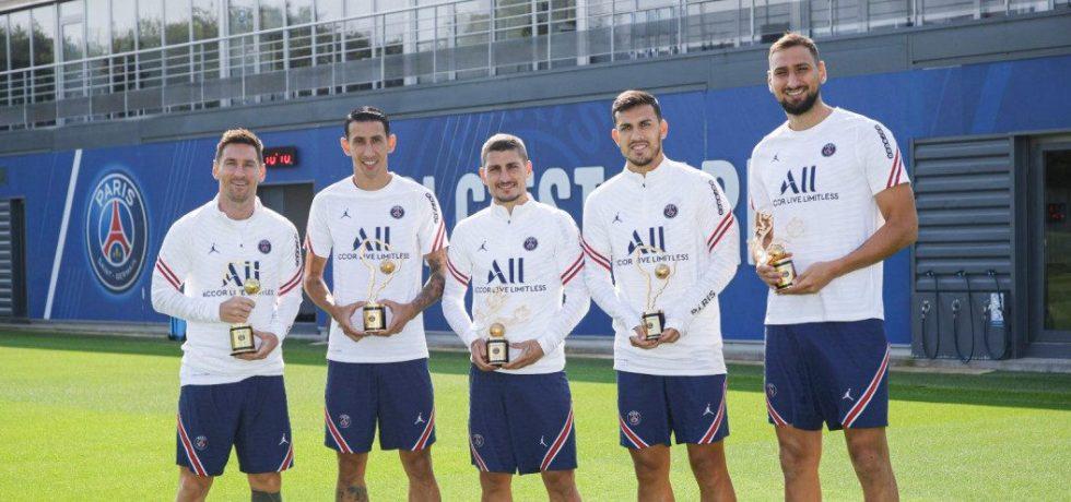 Messi nu a jucat la PSG, dar a primit un trofeu! Când debutează. Sursă foto: espn.com